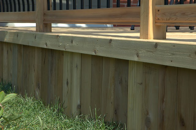 Build A Wood Deck In 4 Simple Steps Step 4 Finishing